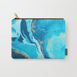 Watercolor Splash Background Carry-All Pouch