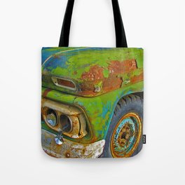 Once upon a tire Tote Bag