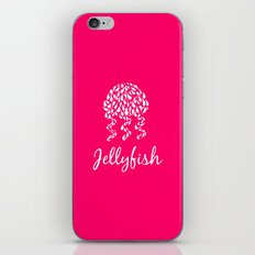Jellyfish Pink iPhone & iPod Skin