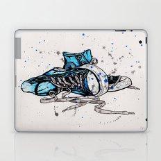 Blue Chucks Laptop & iPad Skin