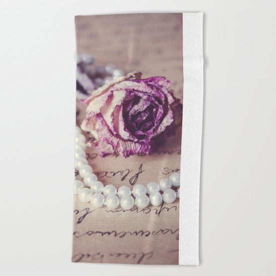 Love Letter II Beach Towel