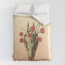 Switch of Celebration - Skull and Flowers Comforters