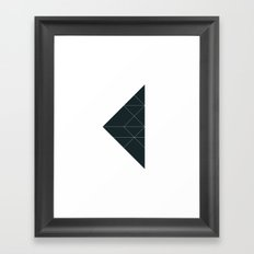 #533 Breakpoints – Geometry Daily Framed Art Print