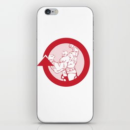 SFV ZANGIEF iPhone Skin