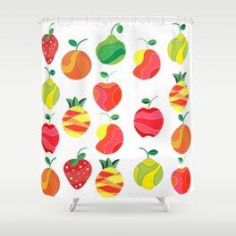 Fruit extravaganza Shower Curtain