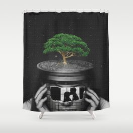 A plant of love Shower Curtain