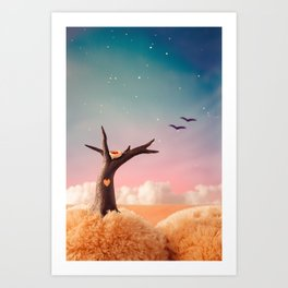 The Heart of a Tree Art Print