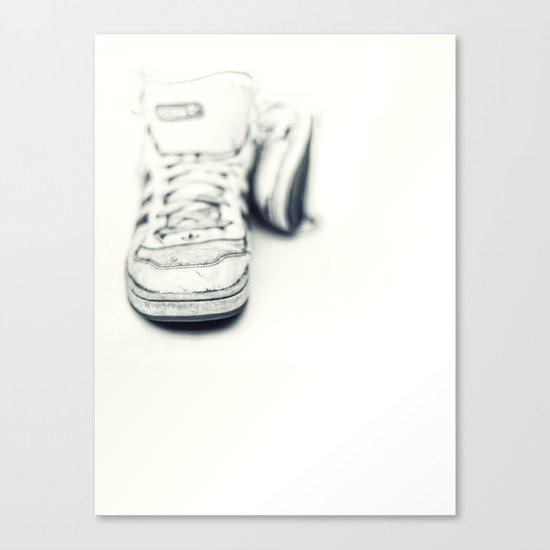 Dancing Barefoot.... Canvas Print