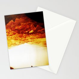 Gold Greed Stationery Cards