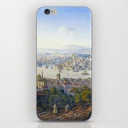 Carlo Bossoli Turks Overlooking Istanbul iPhone Skin