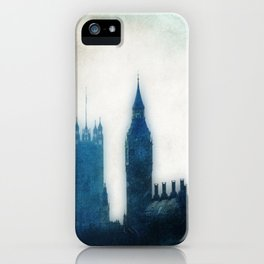 The Many Steepled London Sky iPhone Case