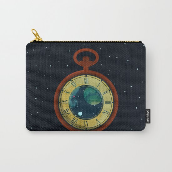 Cosmic Pocket Watch Carry-All Pouch
