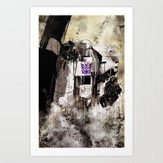 Lord Megatron  Art Print
