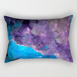 Geometric Galaxy Low Poly 1 Rectangular Pillow