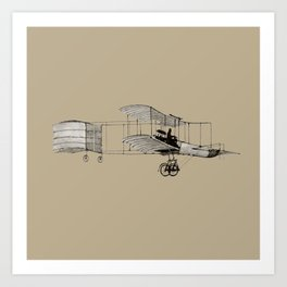 plane3 Art Print