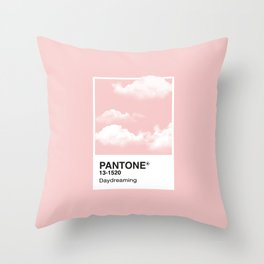 Pantone Series – Daydreaming #2 Throw Pillow