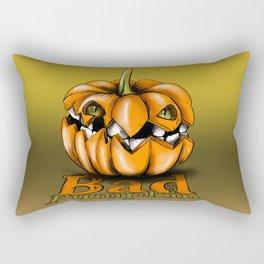 Bad Pumpkin Rectangular Pillow