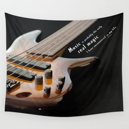 Music is Real Magic Wall Tapestry