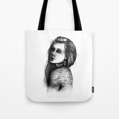 Periphery // Illustration by Hayley Wright Tote Bag