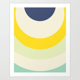 Cacho Shapes X Art Print