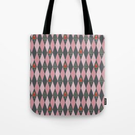 Argyle Jelly Molds Tote Bag