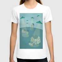 ufo T-shirts featuring UFO by Banessa Millet