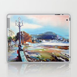Quay after the storm Laptop & iPad Skin