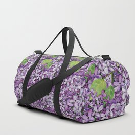 Watercolour Lilac Bloom Duffle Bag