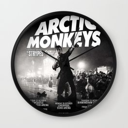 arctic live tour monkeys 2021 Wall Clock