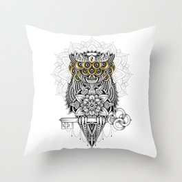 The Secret Keeper Throw Pillow