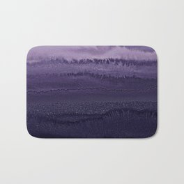 WITHIN THE TIDES ULTRA VIOLET by Monika Strigel Bath Mat