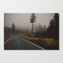 Around the Bend Canvas Print