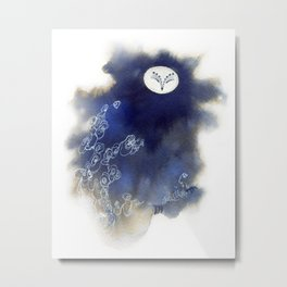 Ghost Owl Metal Print