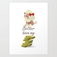 BBHMM Art Print