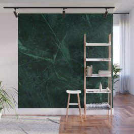 Green Marble Pattern Wall Mural