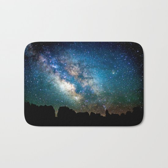 The Milky Way Bath Mat
