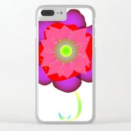 FLORA Clear iPhone Case