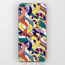 all over iPhone Skin
