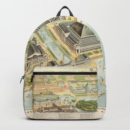 World Columbian Exposition in chicago 1893 Backpack