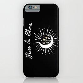 Rise & Shine II iPhone Case