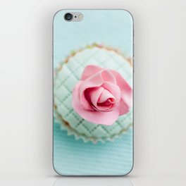 Decorated cupcake iPhone Skin