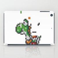 yoshi iPad Cases featuring Yoshi Tetris by Tombst0ne