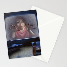 White Noise (Revised) Stationery Cards