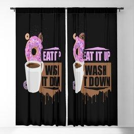 Eat It Up - Wash It Down Blackout Curtain