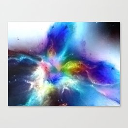 θ Atlas Canvas Print