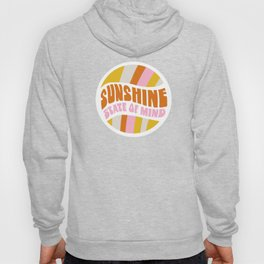 sunshine state of mind, type Hoody