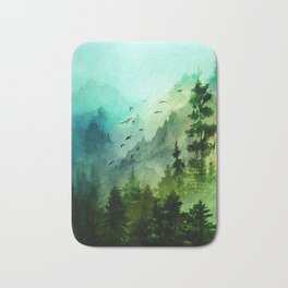 Mountain Morning Bath Mat