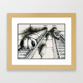 Subway Caterpillars  Framed Art Print