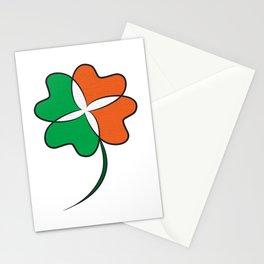 Irish Clover Stationery Cards