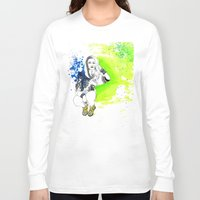 acid Long Sleeve T-shirts featuring Acid by N.I.S.